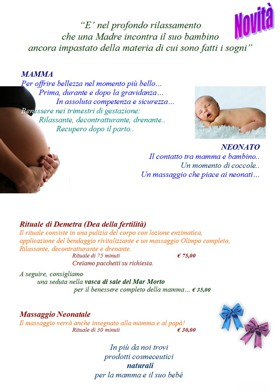 mamy baby olimpo centro benessere spot